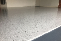 Epoxy Flake Flooring - Garage After
