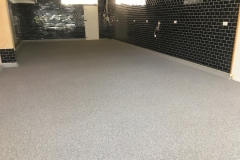 Epoxy Flake Flooring - Restaurant