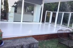 Coloured Epoxy Concrete Coating - Patio