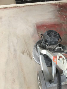 Preparation for Concrete Grinding
