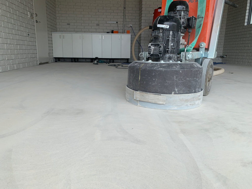 Concrete Grinding Preparation