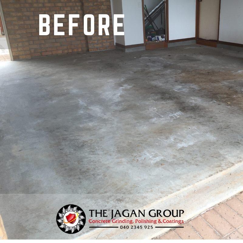 Jagan Floor Coating Before